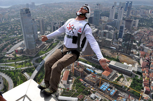 Is Deutsche Telekom's Timotheus Hottges a BASE jumper? We're saying yes.