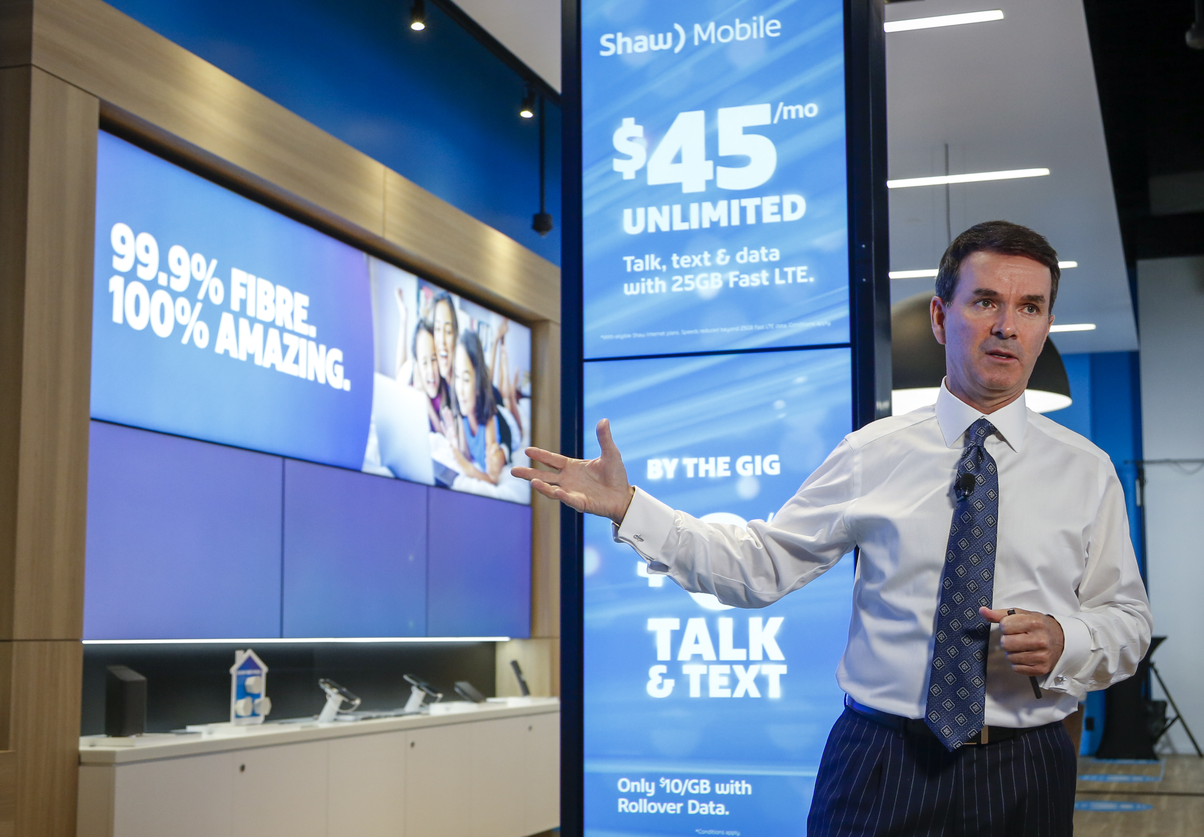 'Shaw Mobile' banks on network convergence  | Light Reading