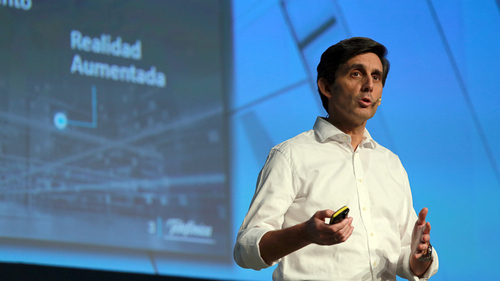 Telefonica's Alvarez-Pallete is cutting jobs, reducing investments and selling assets.