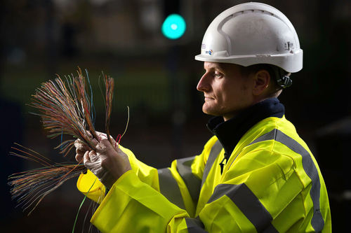 Special spaghetti: Despite the pandemic, BT's fiber-to-the-premises hit 3 million.   (Source: BT)