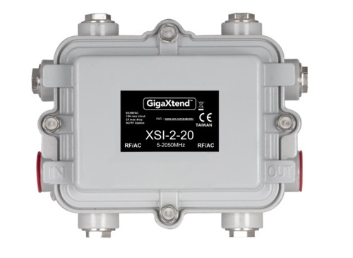 The deal with Digicomm covers ATX's coming line of GainMaker-compatible products and its own new line of cable access products, the 2GHz GigaXtend Hardline Passives, pictured.   (Source: ATX)