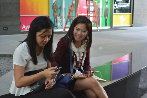 Demand for smartphones services has remained strong in the Philippines.