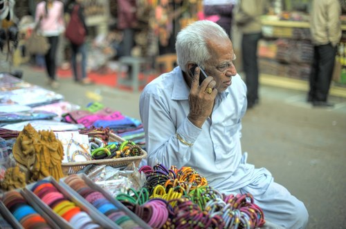 Mobile usage has taken off in India while its operators have continued to collapse.