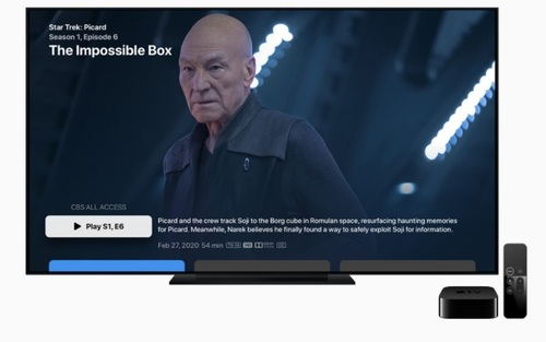 Bundling CBS All Access will give Apple TV+ users easier (and discounted) access to ViacomCBS original series such as Star Trek: Picard. 