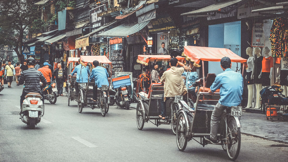Moving out: Samsung is considering moving some production from Vietnam (pictured) to India.  (Source: zhang kaiyv on Unsplash)