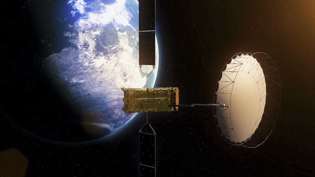 Satellite communications: Built by Astrium, Inmarsat's Alphasat is the largest European telecom satellite ever built.  (Source: ESA)