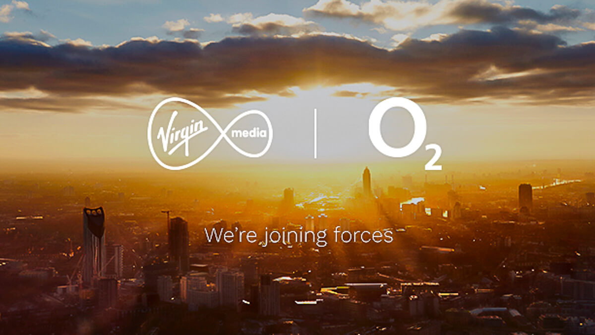 Making change: Virgin Media and O2 are now one - but still seem to be singing from the existing hymn sheet.  (Source: Virgin Media O2)