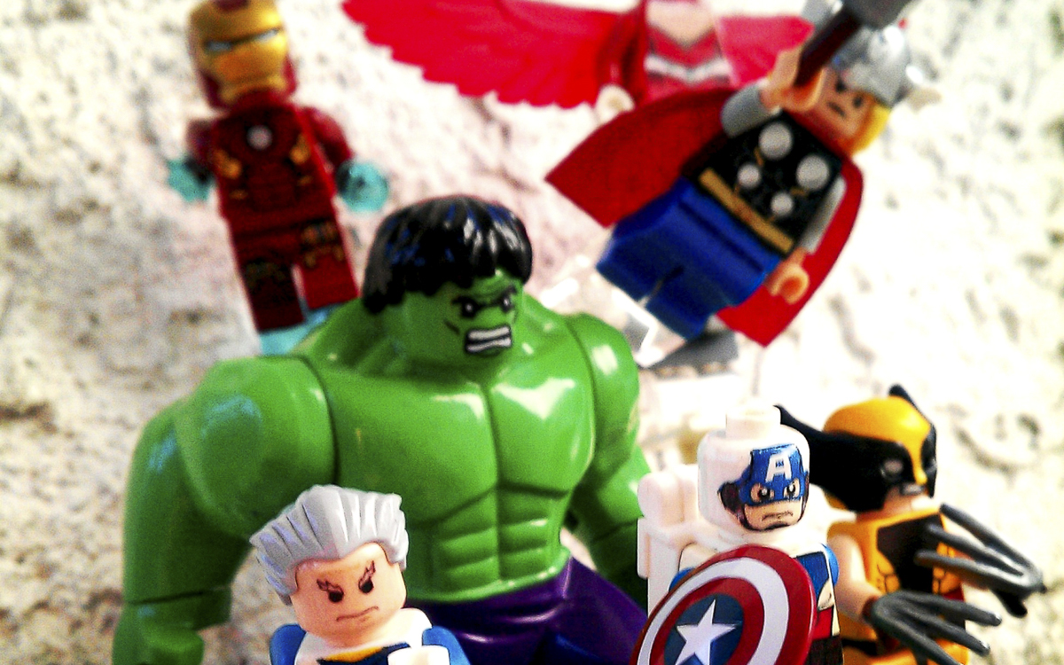 Avengers assemble: Microsoft is leading a group of unlikely superheros in the fight against fake news. (Source: 1upLego on Flickr CC 2.0)