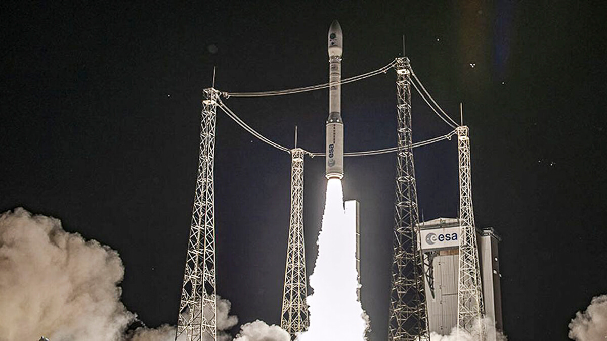 Back on the horse: The Vega launch is the first since 2019, when a rocket was lost in July.  (Source: Arianespace)