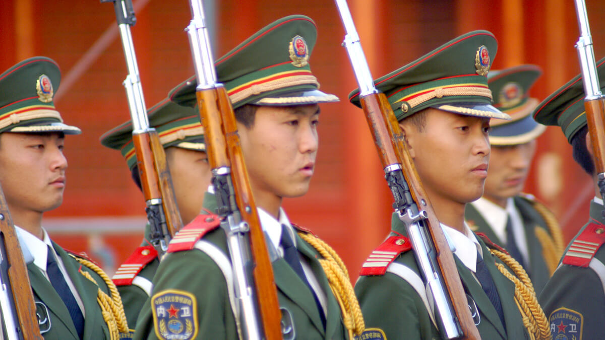 PLA time: SMIC has denied it has links to the Chinese Army as the US looks to sanction it.  (Source: Steve Webel on Flickr CC 2.0)