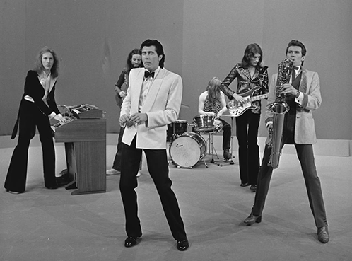 Stand down guys: art-house popsters Roxy Music, not to be confused with ROXi music, Sky Q's most recent addition.   (Source:  Creative Commons Attribution-Share Alike 3.0 Netherlands)