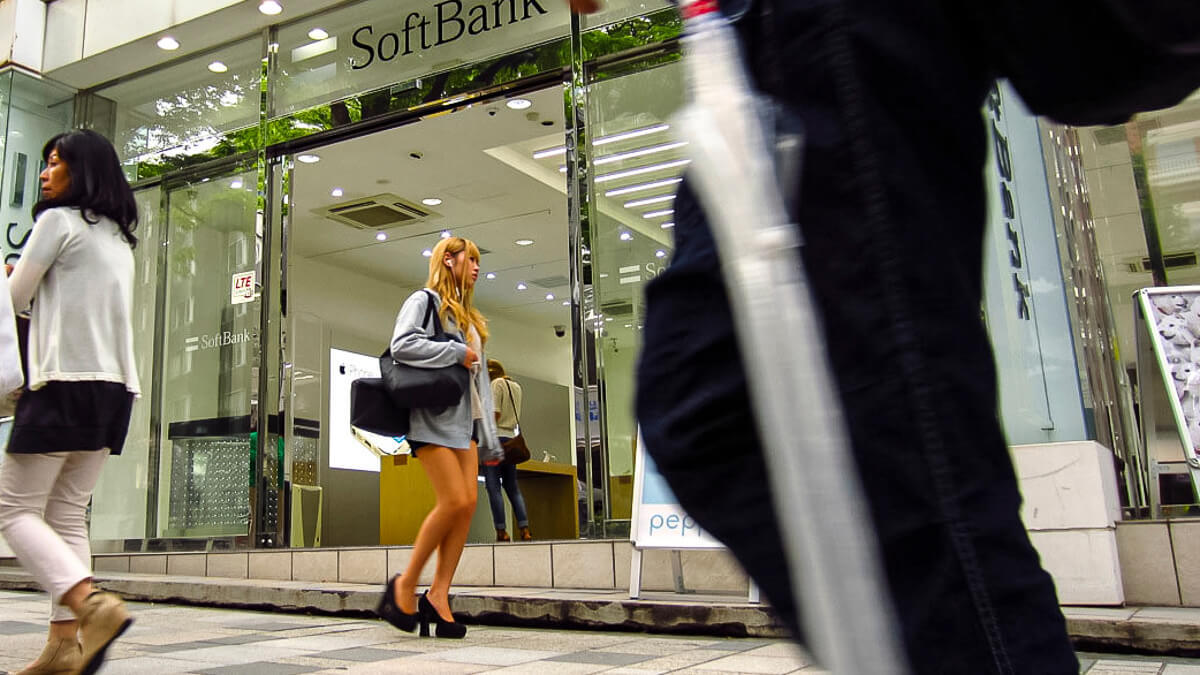 Easier streets: SoftBank has raised full year forecasts after a better than expected pandemic.  (Source: knowmadic media on Flickr CC 2.0)