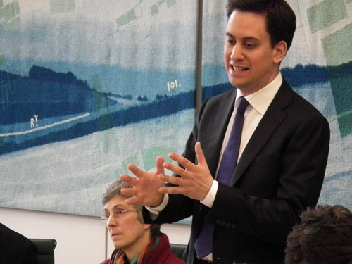 Labour's Ed Miliband has urged the government to intervene if ARM is sold to Nvidia.