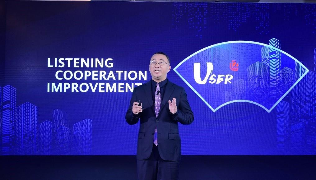 Peng Jun, Director of GTS Network Assurance Business Dept., Huawei