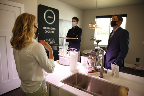 Zestful Kitchen is one of the partners showing off their wares in Mediacom's 10G Smart Home.  