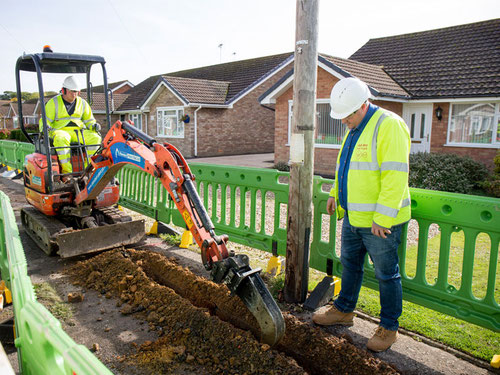 Virgin Media reckons it can avoid these digs when upgrading to higher speeds.