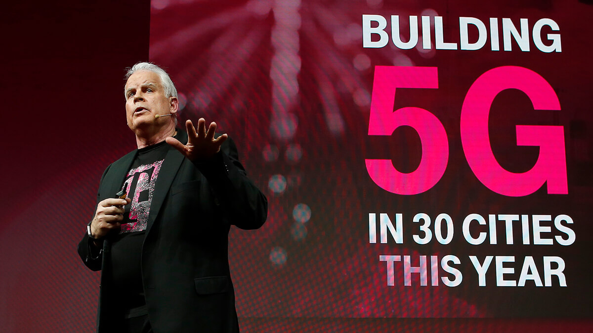 Neville Ray: 5G will determine whether the next Google, Apple, Amazon, and Uber in the world is created here in the US or abroad.  (Source: T-Mobile)