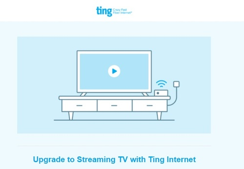 Ting has opted to partner with Sling TV and YouTube TV to provide broadband subs with a pay-TV option rather than developing its own IPTV platform.