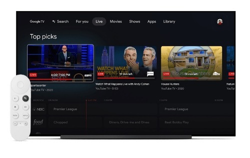 The new Google TV system can scan across apps to generate and present  personalized, curated lists of TV show and movie recommendations.