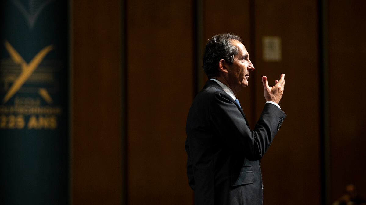 Final hurdle: French billionaire Patrick Drahi is in the final stages of taking Altice Europe private again.  (Source: Ecole polytechnique on Flickr CC 2.0)
