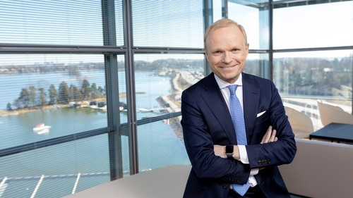 Meet the new boss: Pekka Lundmark recently became Nokia's CEO.