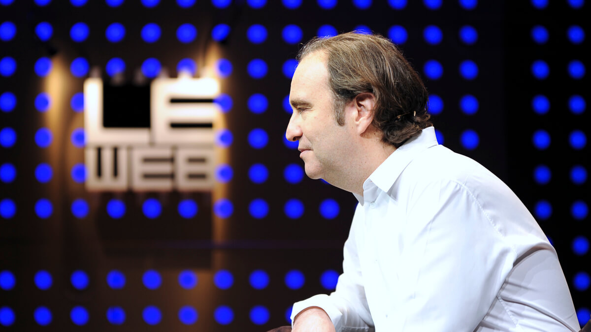 My way: French billionaire Xavier Niel made his first million selling his sex chat Minitel service, launched when he was 19 in 1987.   (Source: Le Web on Flickr CC2.0)