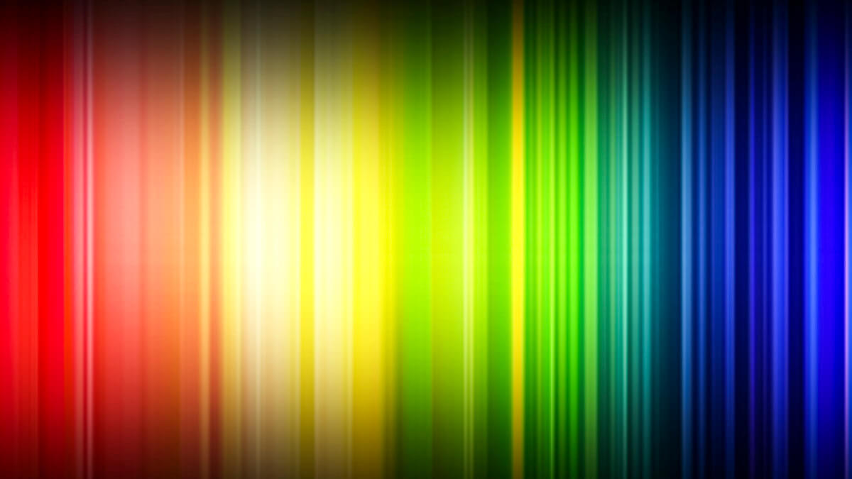 Slice and dice: While the E and V band spectrum might not look quite as striking as this, they're nevertheless highly sought after.  (Source: Unsplash)