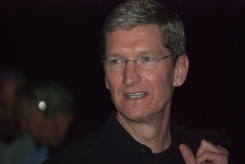 Apple CEO Tim Cook has good reason to be optimistic.