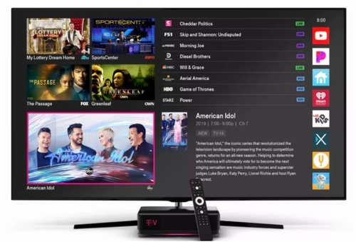 TVision Home is IP-based, but relies on a more traditional DVRs and set-top box client devices.