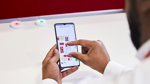 Going in-house: Vodafone UK has deployed IoT.nxt's IoT platform internally.  (Source: Vodafone UK)