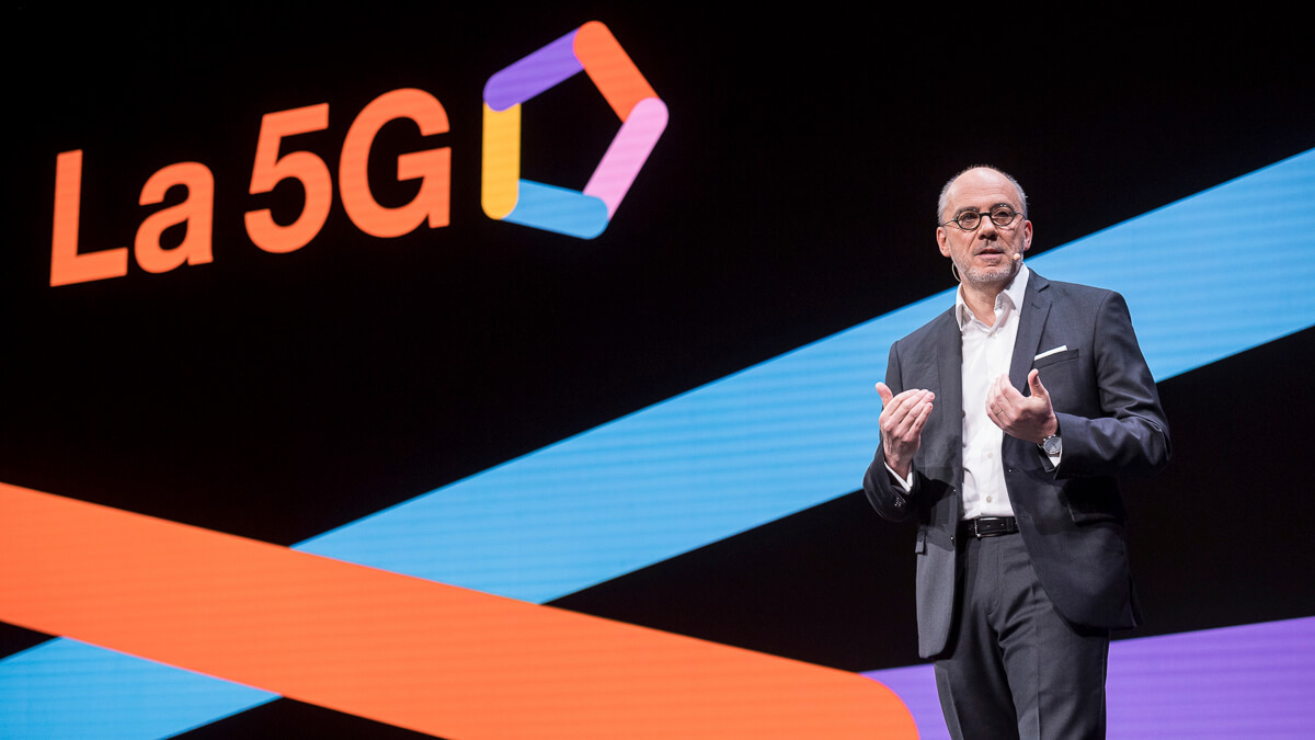 Innovate plus: Orange CEO Stephane Richard is backing 5G with a group of innovation labs.  (Source: Orange)