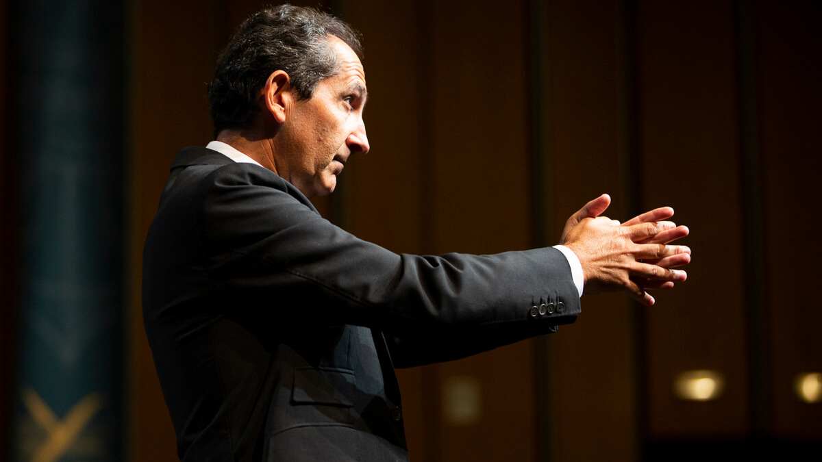 Trust in me: Hedge fund Lucerne Capital isn't backing down in its fight with Patrick Drahi over Altice's future.  (Source: Ecole Polytechnique on Flickr CC2.0)