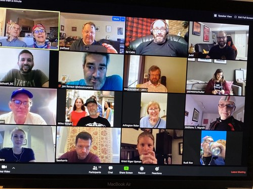 2020 Vision: Seeing family and friends on a Zoom screen for social gatherings has become the norm this year.  (Source: Joe in DC via CC BY-NC-ND 2.0.)
