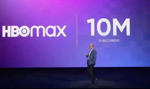 AT&T CEO John Stankey, shown here at an HBO Max-focused investor event last November, said the new streaming service launched nationally on May 27 has grown to about 12.6 million activations.