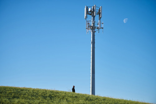 Dish said it activated a cell tower in Cheyenne, Wyoming. (Source: Dish)
