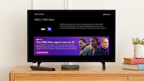 Comcast has begun to roll out the Internet-delivered HBO Max app on X1 and Flex boxes.   (Source: Comcast)