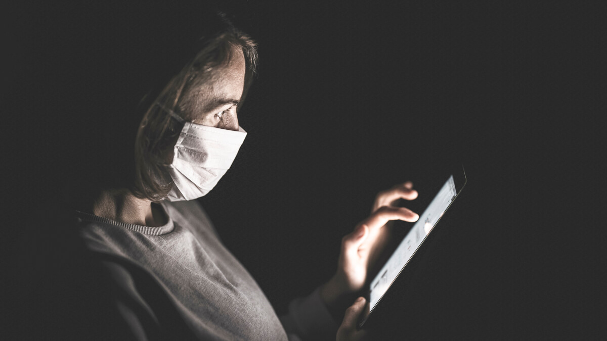 Falling short: Only 17% of organizations were 'fully prepared' for remote working when the global coronavirus pandemic hit. (Source: Unsplash)