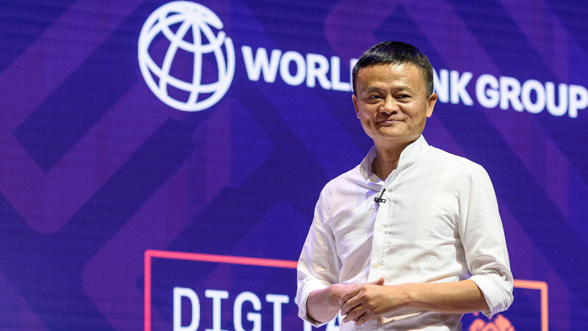Now you see him: Alibaba founder and billionaire Jack Ma has been missing since a speech critical of China in October. (Source: World Bank on Flickr CC2.0)