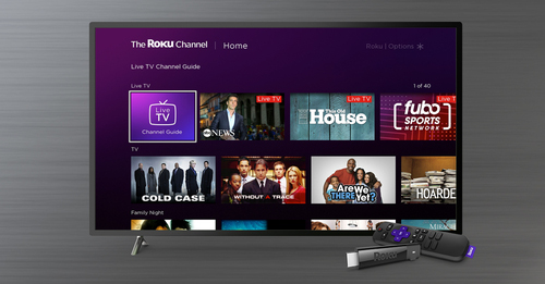 Roku's slate of originals, including rights to Quibi's catalog, will be shown on The Roku Channel, the company's free, ad-supported streaming service.   (Image source: Roku)