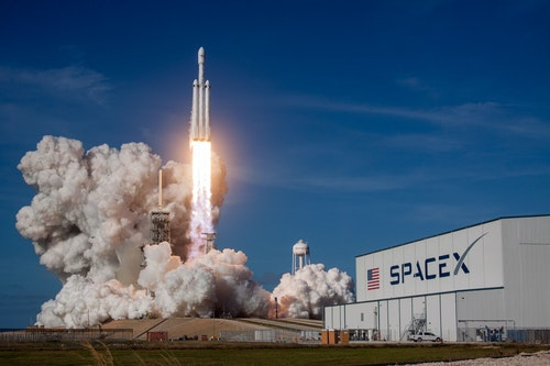 Rocket man: Elon Musk's SpaceX has set up a UK company, Starlink Internet Services. Source: SpaceX on Unsplash