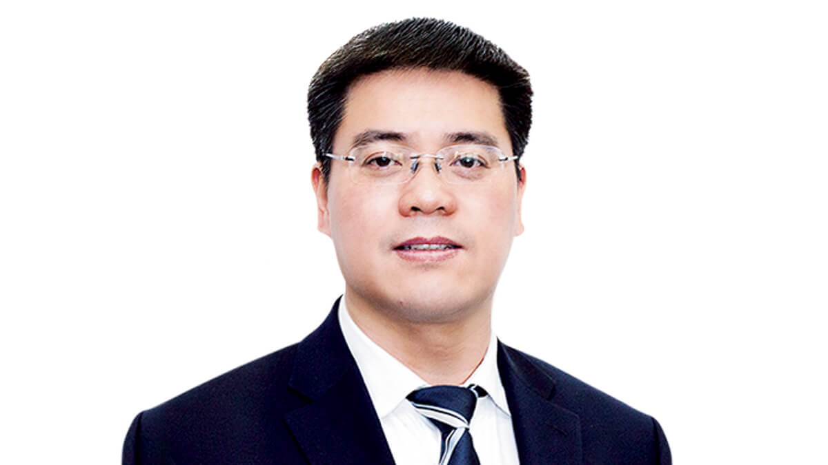 Lateral moves: China Unicom's new president, Chen Zhongyue, has moved over from China Telecom.  (Source: China Telecom)