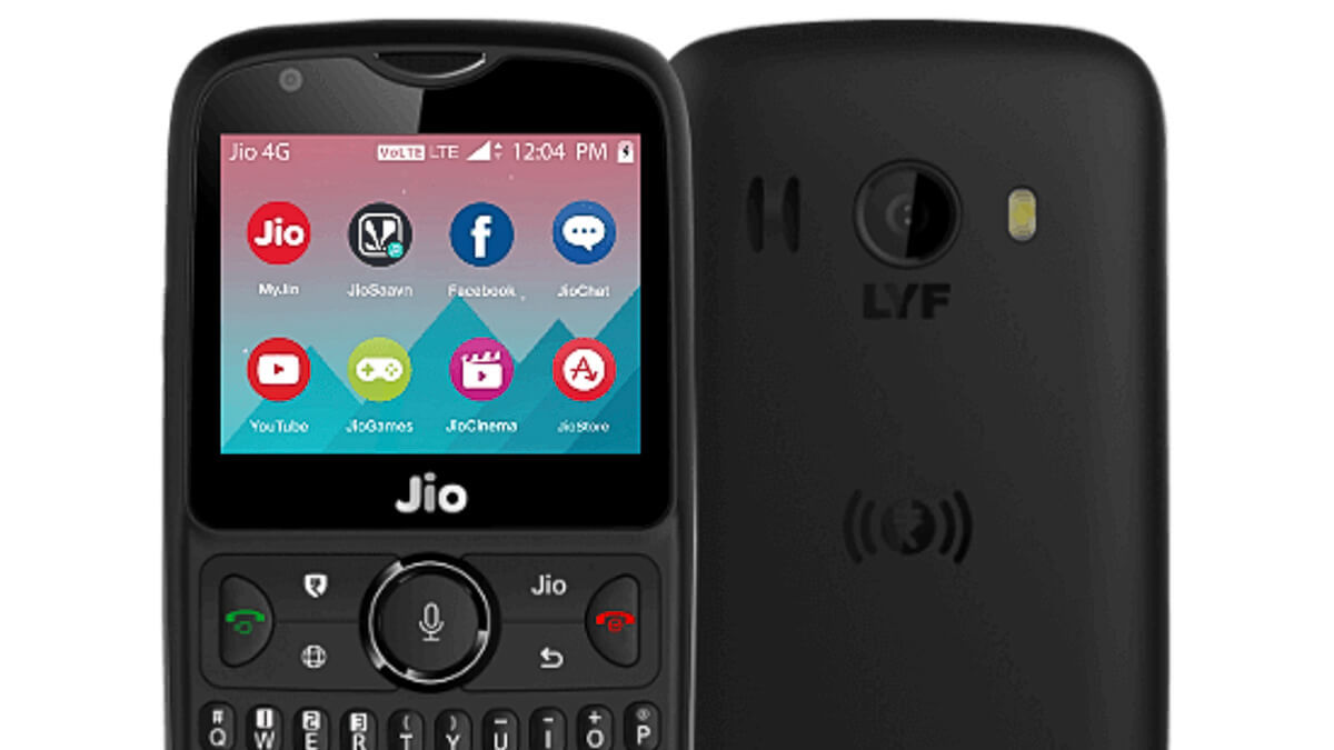 Making a comeback: The JioPhone will relaunch in the first half of 2021, according to reports.  (Source: Jio)