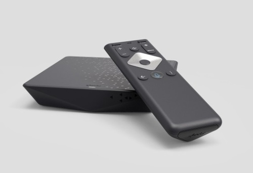 The Flex box and voice remote.  (Image source: Comcast)