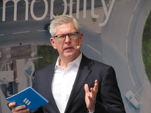 Ericsson CEO Borje Ekholm has hit his profit target two years early.