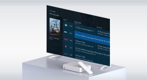Charter is inching toward a plan to offer its Worldbox – an IP-capable device that is integrating a greater number of third-party, direct-to-consumer streaming apps – to its broadband-only customers.   (Image source: Charter)