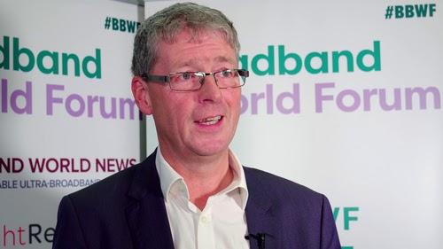 BT's Howard Watson hopes to avoid a Huawei broadband ban.