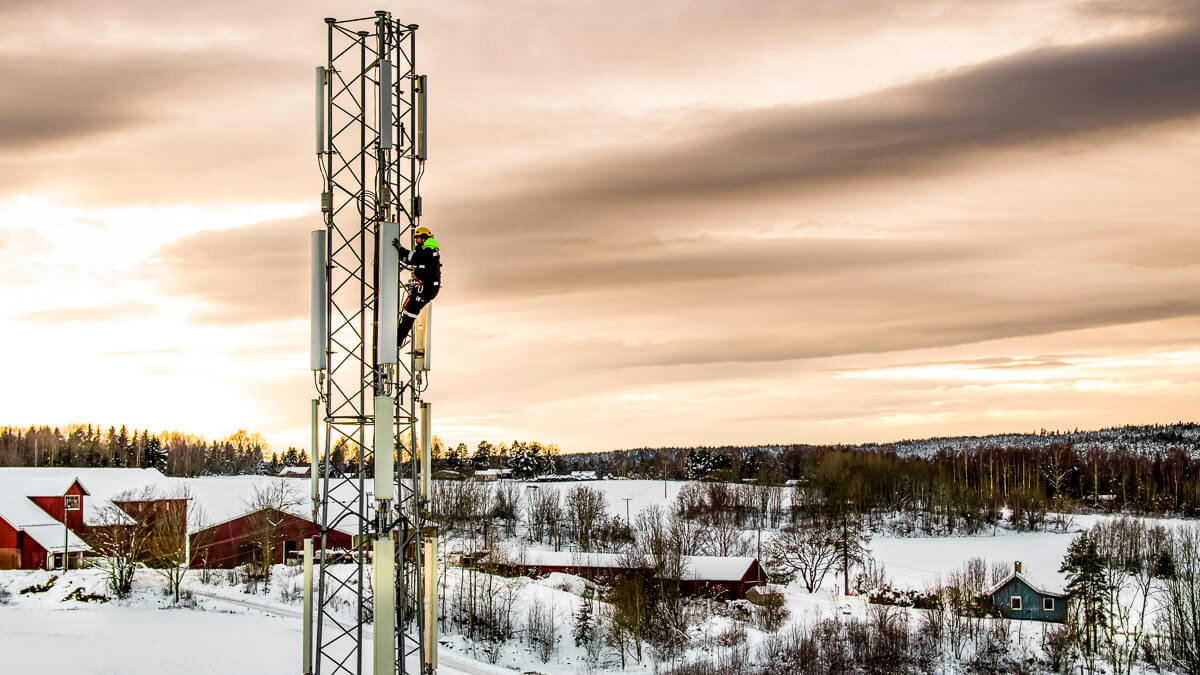 Scaling up: Ice Group is busy building out its 4G network – which helped push up earnings despite COVID-19.  (Source: Ice Group)