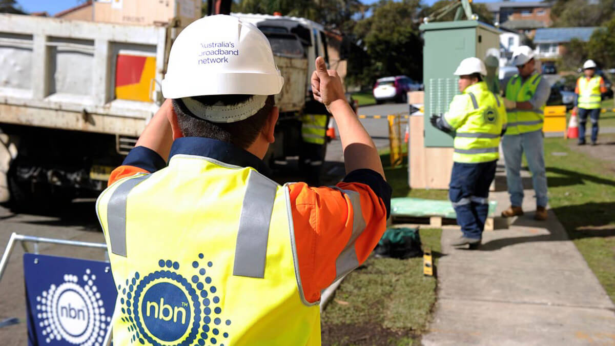 If you build it: NBN FTTN being laid down in Newcastle, Australia.  (Source: NBN Co)