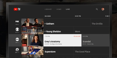 YouTube TV is preparing a yet-to-be-priced add-on option that will provide access to 4K fare and the ability for subscribers to download shows.