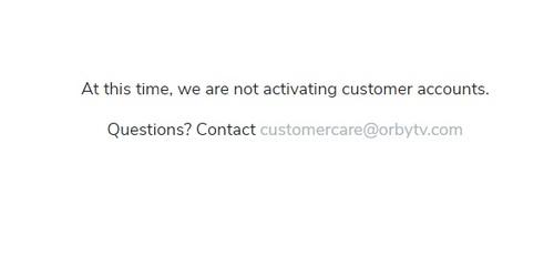 OrbyTV.com, as of February 19, 2021.
